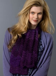 Red Heart Boutique Changes Lovely Lace Scarf Kit - Scarf and Shawls