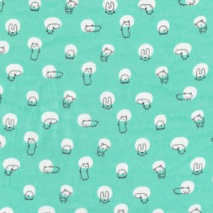 Cloud 9 Fabrics Monsterz Fabric - Spotlight - Mint