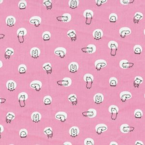 Cloud 9 Fabrics Monsterz Fabric - Spotlight - Pink