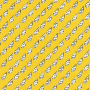 Cloud 9 Fabrics Monsterz Fabric - Static - Yellow