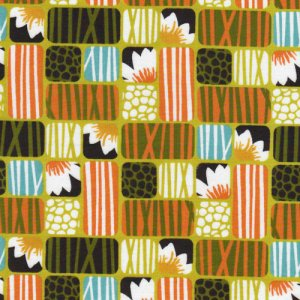 Cloud 9 Fabrics Across the Pond Fabric - Lotus - Grass