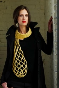 Imperial Yarn Patterns - Honeycomb Scarf Pattern