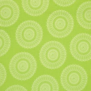 Tina Givens Star Flakes and Glitter Fabric - Stardust - Green