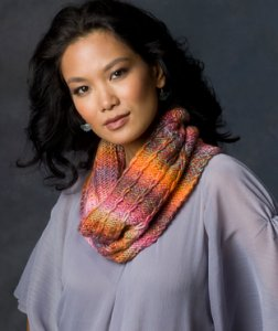 Red Heart Boutique Treasure Spectra Cowl Kit - Scarf and Shawls