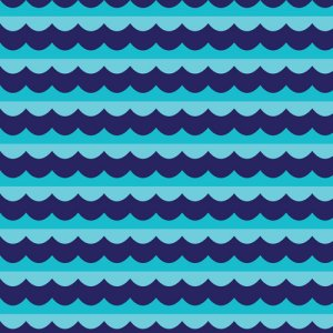 Cloud 9 Fabrics Seven Seas Fabric - High Seas - Blue