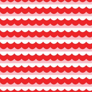 Cloud 9 Fabrics Seven Seas Fabric - High Seas - Red