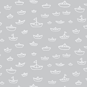 Cloud 9 Fabrics Seven Seas Fabric - The Fleet - Gray