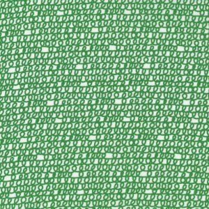 Cloud 9 Fabrics Happy Drawing Fabric - Scribbles - Green