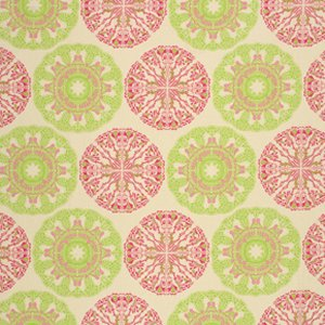 Tina Givens Star Flakes and Glitter Fabric - Doily - Ivory