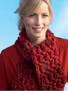 Red Heart Boutique Changes Changing Texture Scarf Kit - Scarf and Shawls