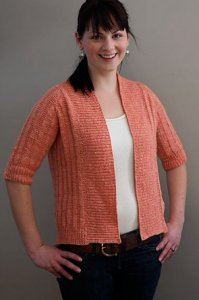 Knitbot Patterns - Spring Ribbed Cardigan Pattern