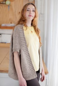 Brooklyn Tweed Patterns - Inversion Cardigan Pattern