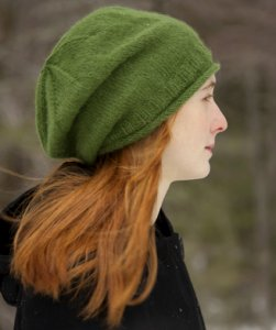 Classic Elite Fresco Simple Slouchy Hat Kit - Hats and Gloves