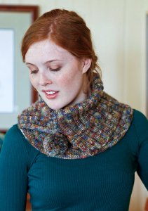 Berroco Boboli Eglet Cowl Kit - Scarf and Shawls