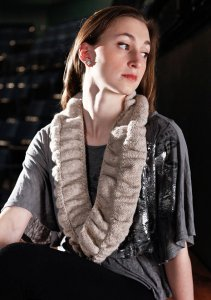 Berroco Flicker Britt Cowl Kit - Scarf and Shawls