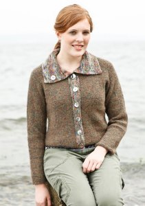 Berroco Voyage and Boboli Freddo Cardigan Kit - Women's Cardigans