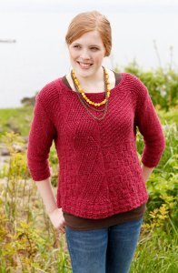 Berroco Remix Catalpa Pullover Kit - Women's Pullovers