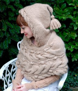 Tiny Owl Knits Patterns - Woodland Hoodlet Pattern