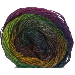 Noro Silk Garden Yarn - 362 Jade, Gold, Magenta (Discontinued)