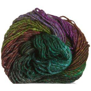 Noro Silk Garden Yarn - 370 Green, Brown, Lime, Rust (Discontinued)