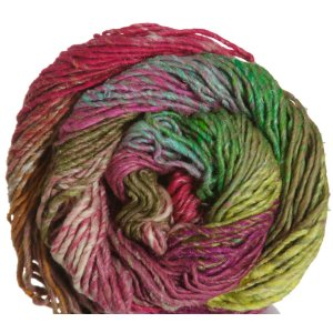 Noro Taiyo Yarn - 28 Pink, Bright Green, Orange