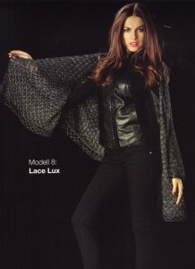 Lana Grossa Lace Lux Shoulder Shawl Kit - Scarf and Shawls