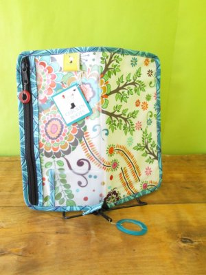 Chicken Boots DPN/Crochet Hook Case - Garden