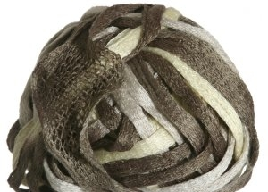 Knitting Fever Flounce Yarn - 25 Off White, Sand