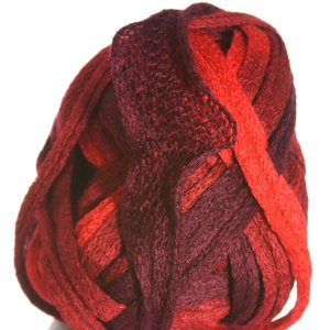 Knitting Fever Flounce Yarn - 28 Burgandy, Wine, Red