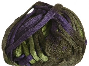 Knitting Fever Flounce Yarn - 29 Kiwi, Purple