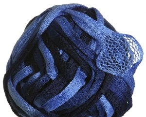 Knitting Fever Flounce Yarn - 32 Navy, Blue, Lt. Blue