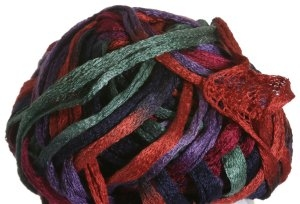 Knitting Fever Flounce Yarn - 37 Lilac, Red, Purple