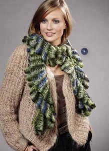 Lana Grossa Condito Scarf Kit - Scarf and Shawls