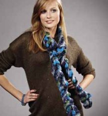 Lana Grossa Condito Crochet Scarf Kit - Crochet for Adults
