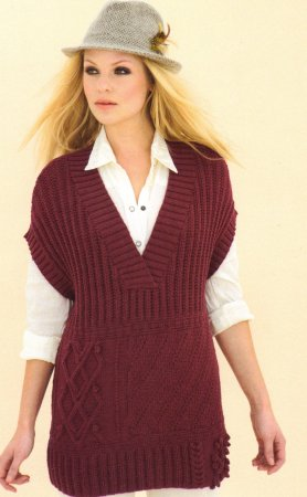 Sublime Extra Fine Merino Wool DK Hippy Chic Vest Kit - Vests