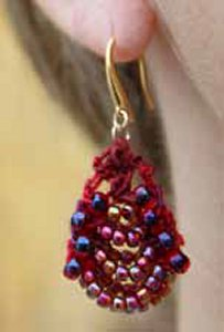 Nelkin Designs Butin Earrings - True Love
