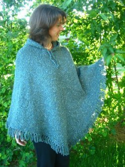 Knitting Pure and Simple Women's Patterns - 246 - Women's Poncho Pattern