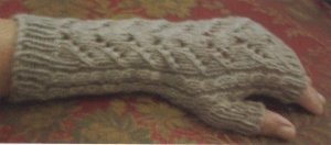 Jade Sapphire Mongolian Cashmere 4-Ply Driftwood Mitts Kit - Hats and Gloves