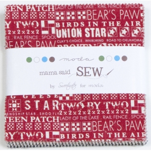 Sweetwater Mama Said Sew Precuts Fabric - Charm Pack