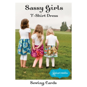 Valori Wells Designs Sewing Patterns - Sassy Girls T-Shirt Dresses Pattern