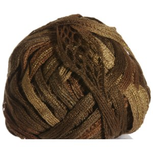 Knitting Fever Tricor Lux Yarn - 31 - Lt. Brown, Dk. Brown