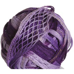 Knitting Fever Tricor Lux Yarn - 33 - Lt. Purple, Dk. Purple