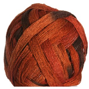 Knitting Fever Tricor Lux Yarn - 64 - Rust, Brown
