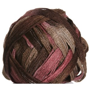 Knitting Fever Tricor Lux Yarn - 66 - Pink, Brown