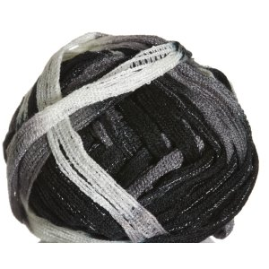Knitting Fever Tricor Lux Yarn - 67 - Black, Grey, White