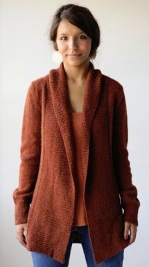 Berroco Ultra Alpaca Light Autumnal Cardigan Kit - Women's Cardigans