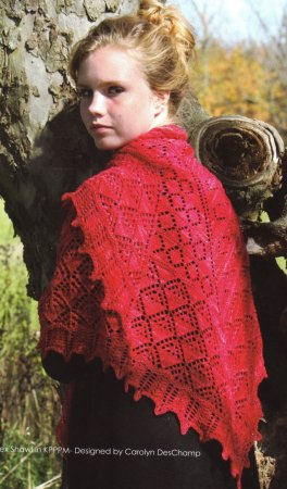 Koigu KPPPM Apex Shawl Kit - Scarf and Shawls