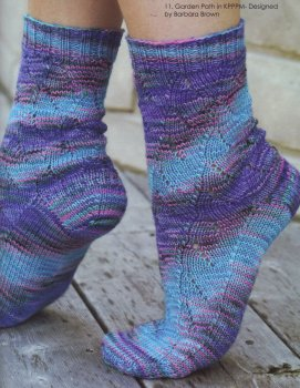 Koigu KPPPM Garden Path Socks Kit - Socks