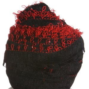 Plymouth Joy Prism Yarn - 106 Black, Red