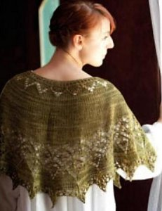 Madelinetosh Sock Georgiana Shawl Kit - Scarf and Shawls